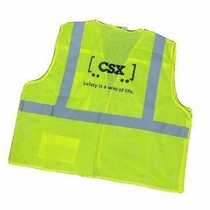 CSX Transportation Safety Vest 5 Point Breakaway